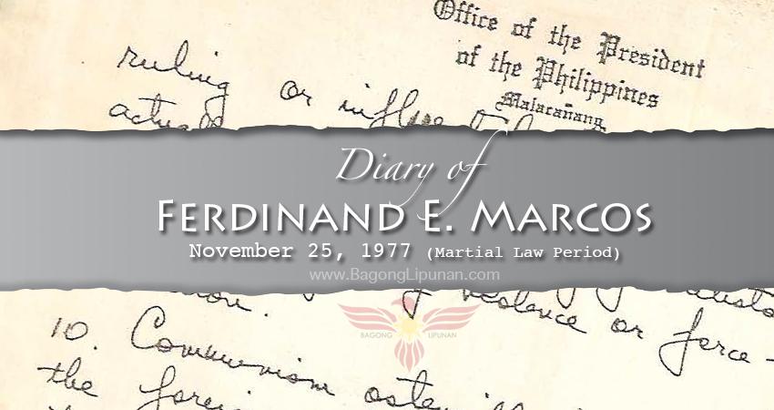 diary-of-marcos-november-25-1977
