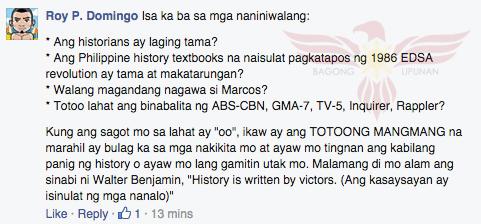 Netizen's comment
