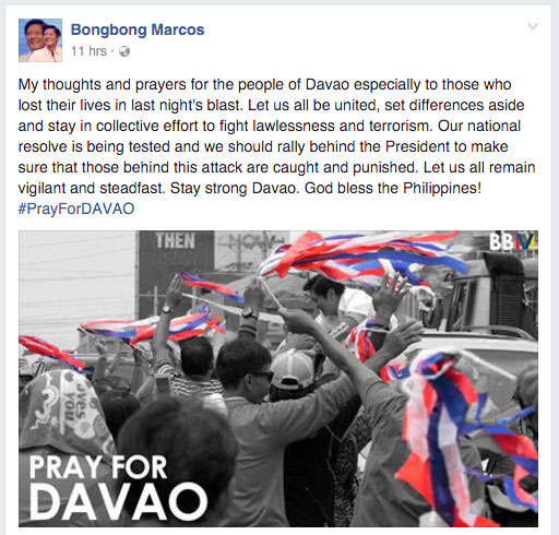 bongbong-calls-for-unity-after-davao-city-bombing-2