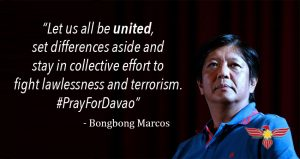 bongbong-calls-for-unity-after-davao-city-bombing
