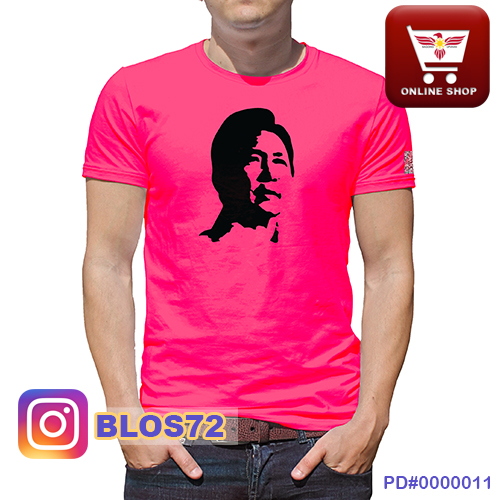 Marcos Logo Red T-shirt