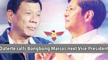 duterte-calls-bongbong-marcos-next-vice-president
