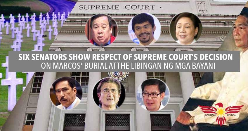 6-senators-show-respect-of-supreme-court-on-marcos-burial