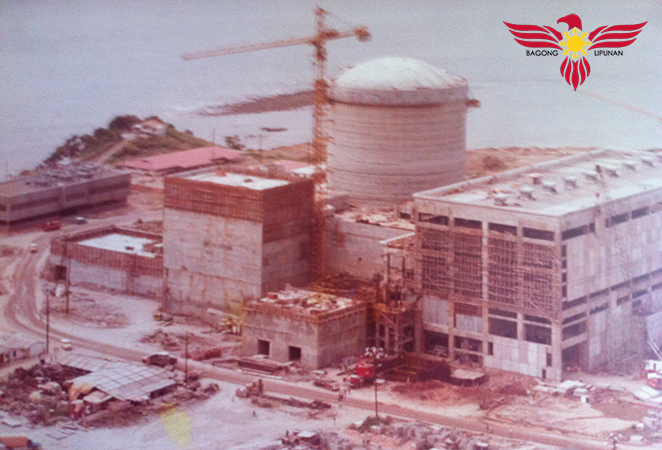 Construction of Bataan Nuclear Power Plant